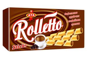 Купить Трубочки с кофейным кремом Rolletto
