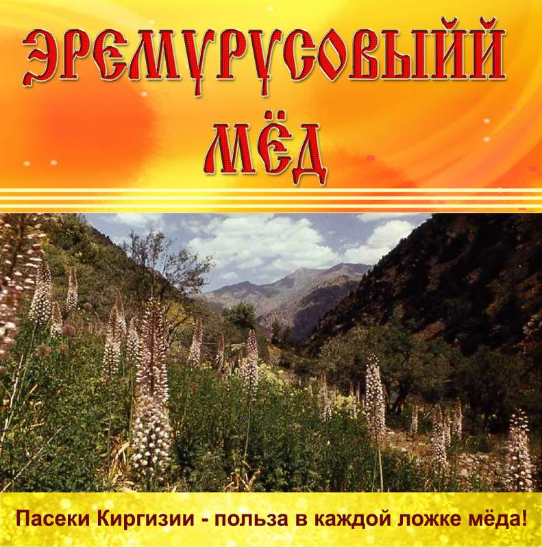 Купить Мёд горный Эремурусовый