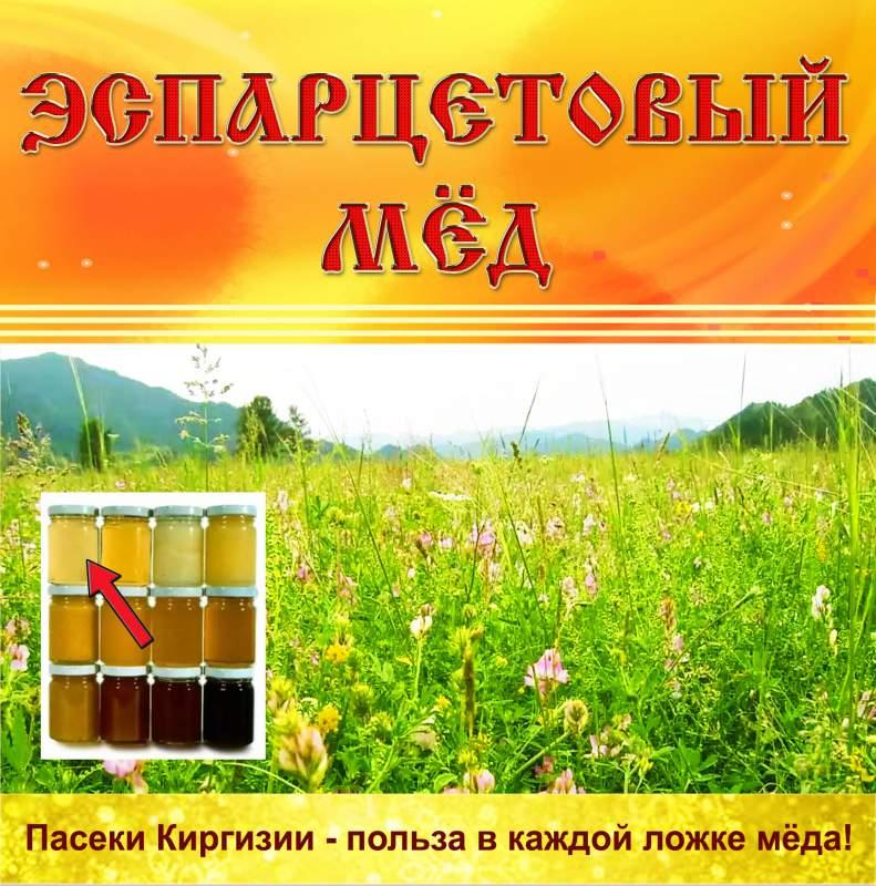 Купить Эспарцетовый мёд