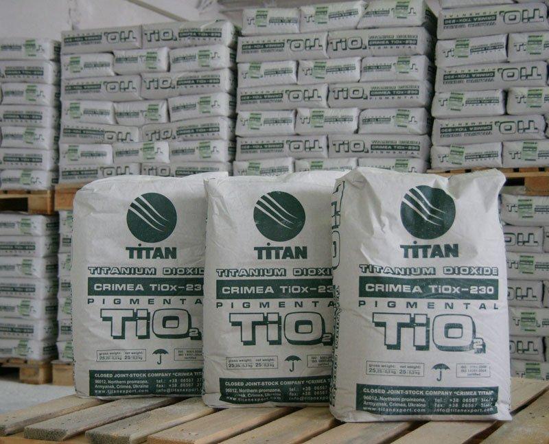Купить Диоксид Титана Crimea Украина