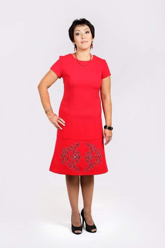 Купить Такое красиое красное платье должно быть в шкафу у каждой модницы.
