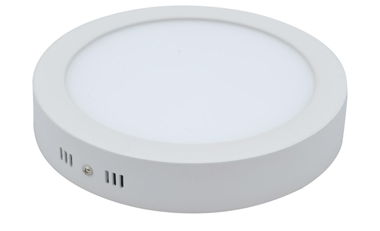 Купить Светодиодная панель 12 ватт (круглая наружно-монтируемая)