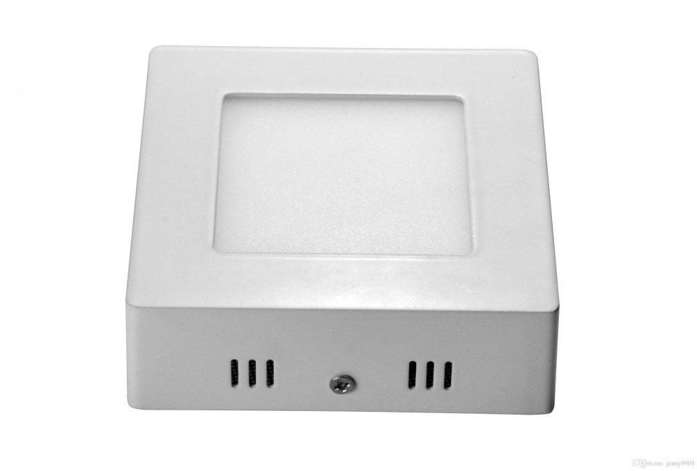 Купить Светодиодная панель 6 ватт (квадратная наружно-монтируемая)
