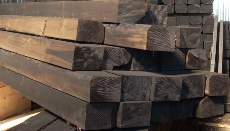 Купить Шпала деревянная пропитанная