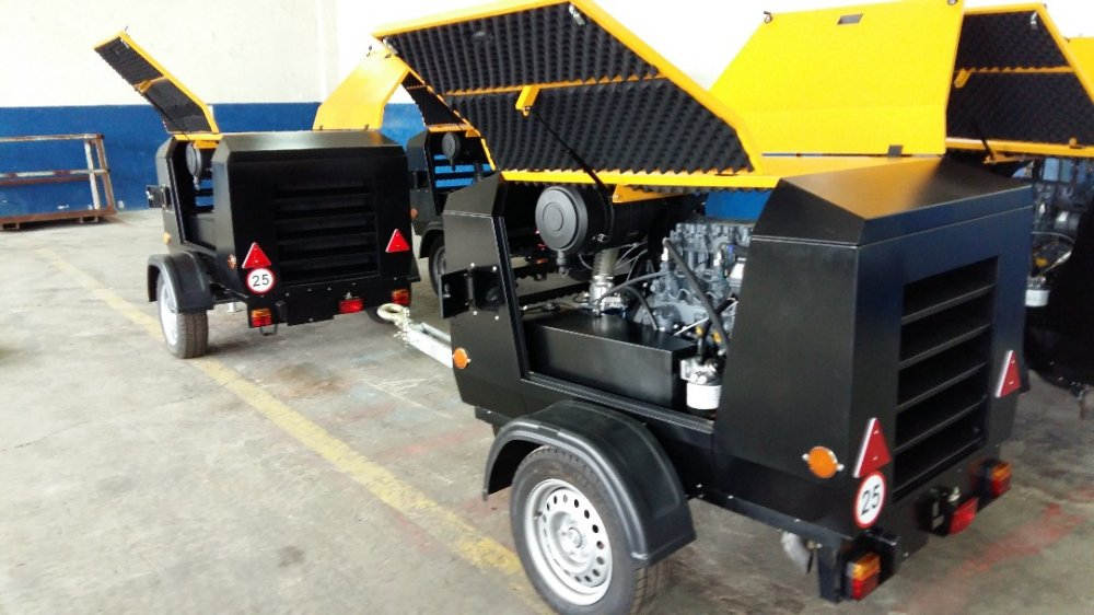 Buy The GDP mobile Diesel Compressor 5,3/7 PKSD analog in the city of Bishkek and Osh