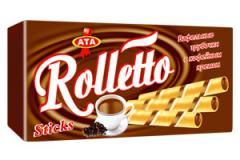 Трубочки с кофейным кремом Rolletto