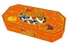 Конфеты Мини Десерт с апельсиновой начинкой