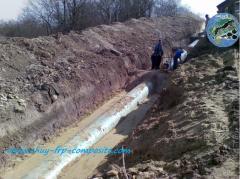 Fiberglass pressure pipes