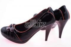 Туфли женские  из искусственной кожи