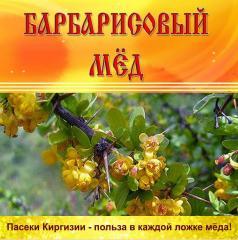 Мёд горный Барбарисовый