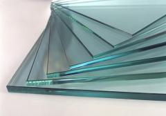 Sheet glass polished
