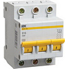 Выключатели автоматические ИЭК-EIK 1/2/3/4 полюсные от 0,5А до 4200А