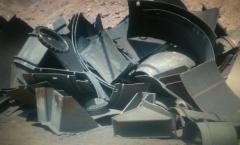 Titanium scrape and wastes