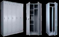 Гардеробный шкаф металлический