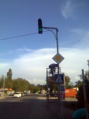 Светофор транспортный