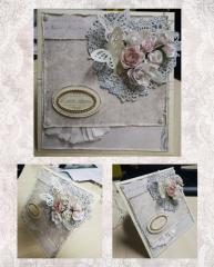 Поздравительная открытка-конверт на свадьбу!