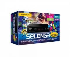DVB-T2 ресивер Selenga HD860 (Санарип ТВ)