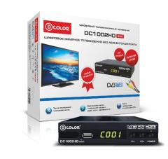 DVB-T2 ресивер D-color (Санарип ТВ)