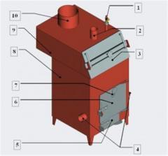 Угольные котлы Прометей серии 1ТМ -5ТМ до 100 КВт