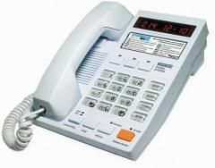Telephones with number definers, AON
