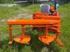 Роторная косилка для минитрактора Уралец
