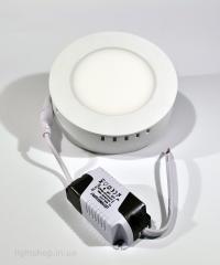 Светодиодная панель 6 ватт (круглая наружно-монтируемая)