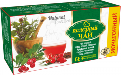 МОЧЕГОННЫЙ (зеленый) Полезный чай 25ф/п * 2г