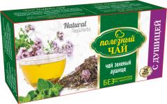 С ДУШИЦЕЙ (зеленый) Полезный чай 25ф/п * 2г
