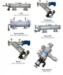 Воздушные и жидкостные фильтры (промышленные и бытовые)