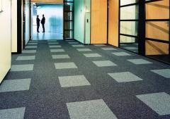 Напольные покрытия, ковровая плитка Interface производства Голландия.
