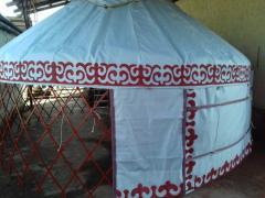 Юрта кыргызская киригизская металлическая