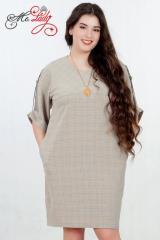 Платье женское артикул 1236-3 размеры 48-58