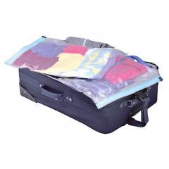 Вакуумный дорожный пакет для одежды, размер 40-50 см