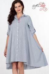 Платье-рубашка женское артикул 1300-2 размеры 46-56