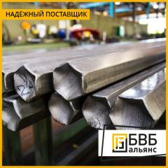 Hexagonal metal bars