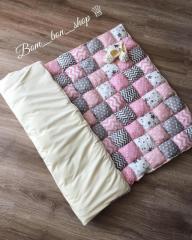 Воздушные одеяла Bom_ Bon: Детские, подростковые, взрослые