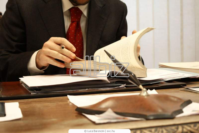 Order Legal Consulting Services
