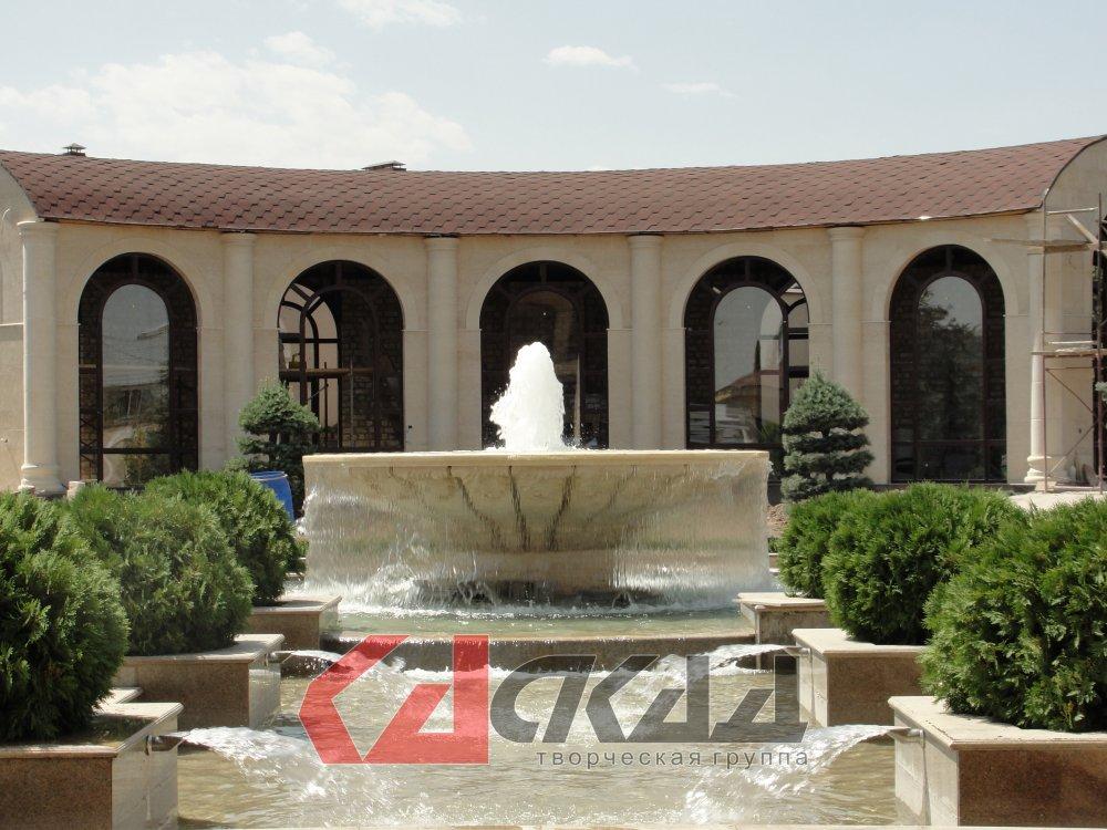 Заказать Проектирование, строительство, установка фонтанов, водопадов, водных, пузырьковых панелей