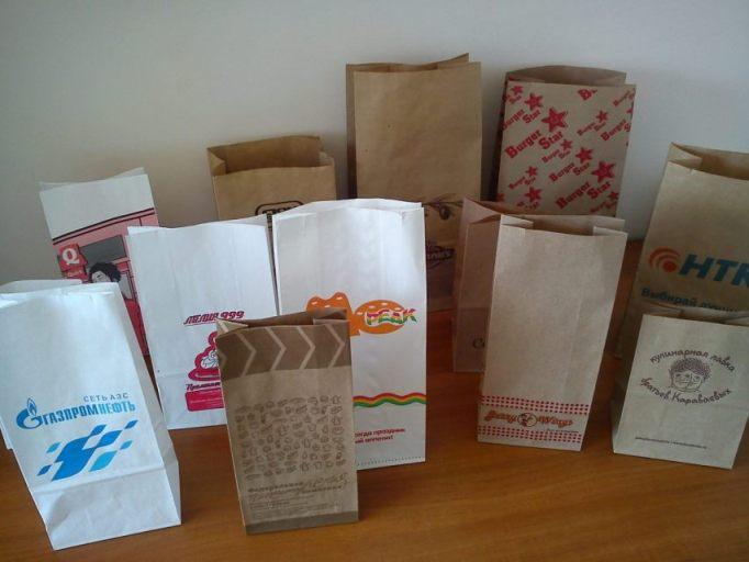 Заказать Изготовление бумажных пакетов