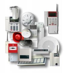 Монтаж систем охранно-тревожной сигнализации
