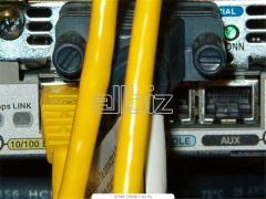 Прокладка опто-волоконного кабеля