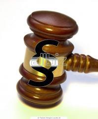 Правовая поддержка и оказание юридической помощи