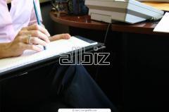 Услуги секретарские