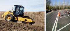 Строительство и обустройство дорог, площадок, стоянок
