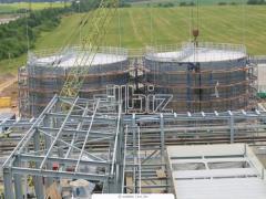 Изготовление  высотных, большепролетных металлических конструкций