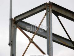 Монтаж высотных, большепролетных металлических конструкций
