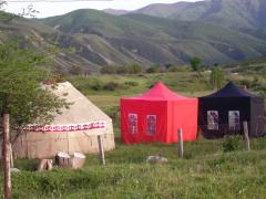 """Кумысолечебница """"Саамал-Туюк"""". Лечение и профилактика кобыльим молоком в Кыргызстане!"""