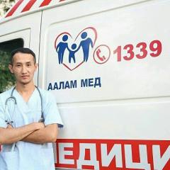 Скорая медицинская помощь Аалам-Мед, частная.