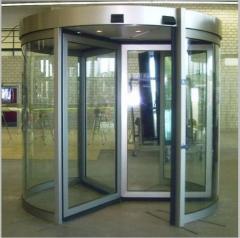 Установка и ремонт автоматических дверей различных типов