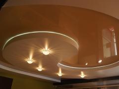 Двухуровневые потолки: просто, но эффектно